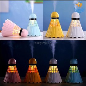 Badminton Humidifier Essential Oil Diffuser Aroma Air Humidifier with LED Night Light for Home Car Office