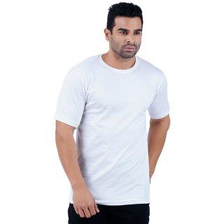Stoovs White Men's Half Sleeve T-shirt