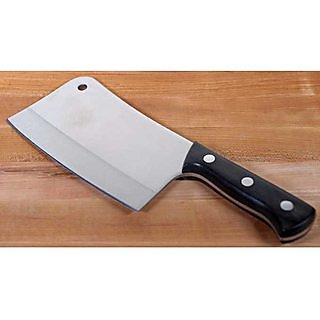Threadstone Vegetable and Meat Chopping Silver Stainless Steel Knife Multipurpose Use for Home Kitchen
