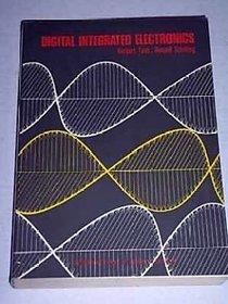 Digital Integrated Electronics BY HERBERT TAUB  DONALD SCHILLING