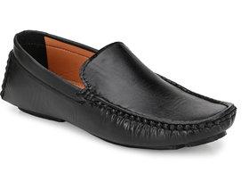 Lee Peeter Men's Black Trendy Loafer