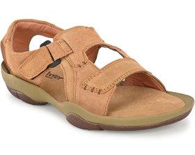 Lee Peeter Men's Tan Valcro Sandal