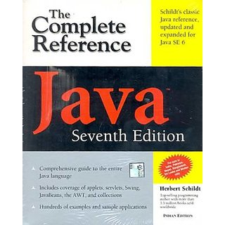 Java The Complete Reference by herbert schildt