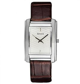 sonata 7953sl01 analog watch for men