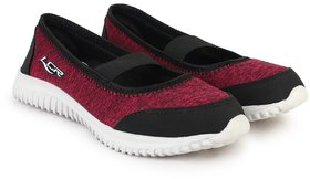 Lancer Latest Fashionable Sneakers For Women (Red Black)