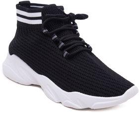 Eversassy Sports Running Shoes For Women (Black)