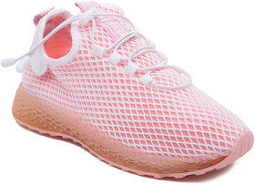 Eversassy Sports Running Shoes For Women (Pink)