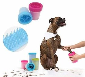 REGAL Soft Silicone Portable Dog Foot Cleaner or Paw Washer for Dogs/Puppies/Cats (Medium)