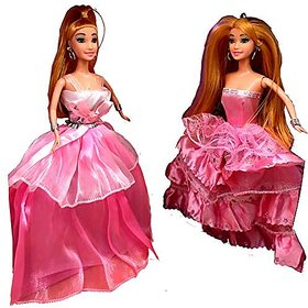 Varna Sweet Angel Beautiful Pair Of Dolls For Girls With Movable Hands And Legs Two (2) Dolls Set