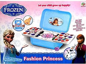 Varna Frozen Style Theme Beauty Makeup Kit For Kids (Made Without Harmful Chemicals)