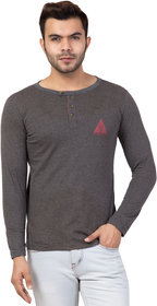 Men's t-shirt full sleeve,SV504 Black