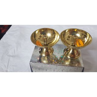 Brass Pooja Diya/ Oil Lamps
