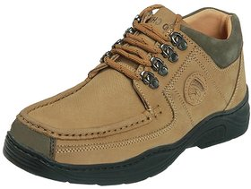 Red Chief Men's  Casual Shoes (RC1200 Camel)