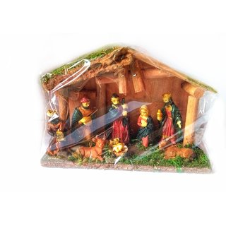 Nativity Set for Christmas Decorations (Pack of 1)