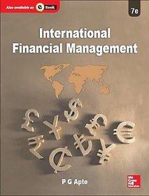 International Financial Management by P G APTE