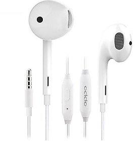 Oppo Wired Earphone With Mic For All Smartphones