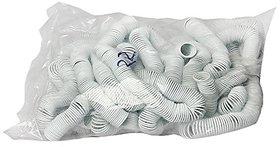 GBT PVC White Spiral Binding Ring 42mm , Capacity 400 Sheet / 75 Gsm ( Packet Of 1 Kg )
