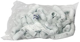 GBT PVC White Spiral Binding Ring 48mm , Capacity 450 Sheet / 75 Gsm ( Packet Of 1 Kg )