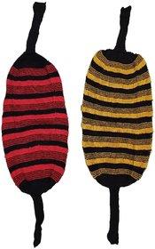 Women's Muffler to wear in winter for Girls(Multicolor, Pack of 2)