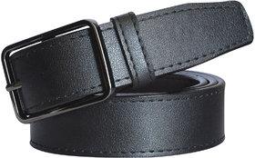 SUNSHOPPING Women Black Casual Synthetic Belt