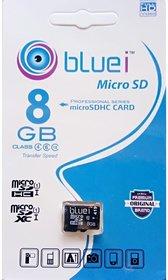 Blue i 8gb Micro Sd Card Class 10