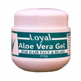 Loyal Aloe Vera gel for Face and Hair (250 Gm)