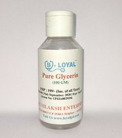 Loyal 100 Pure Glycerin for Face and Skin (100 ML)