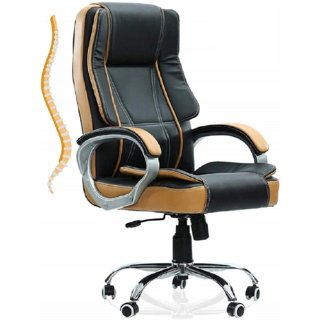 Roll over image to zoom in MRC EXECUTIVE CHAIRS ALWAYS INSPIRING MORE M164 High Back Revolving Office Chair (Black and