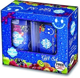 SNR GIFT SET --Plastic Container Lunch Box