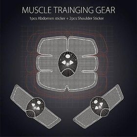 SNR Abs Stimulator Fitness Gym Abs Stickers Pad for Men  Women
