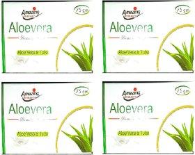 Aloevera Beauty Soap Aloevera  Tulsi Pack of- 4