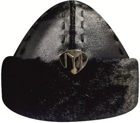 Ertugrul Ghazi Cap ( Black ) Winter, Mens