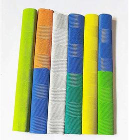 Kalindri Sports Cricket Bat Grip Chevron Double Colour  - Pack of 6