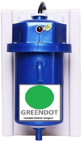 Greendot Lonik instant water geyser, water heater - GC-9050 Assorted Colour - Fitted with ISI Heating Element with Compl