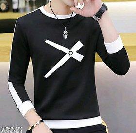 Ruggstar branded T-shirt for men (Black Cross printed)