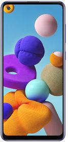Samsung Galaxy A21s 64 GB, 6 GB RAM, Blue, Smartphone