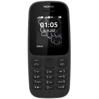 Nokia 105 Dual Sim 2017  Black  Feature Phones