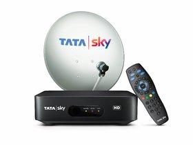 Tata Sky HD Connection With FTA Pack  (153/- Per Month)