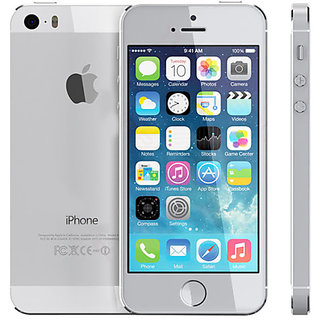 APPLE I PHONE 5S 16GB SILVER LIKE NEW  (REFURBISHED)