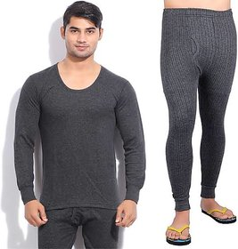 Kinni Thermal Wear 1 Upper  1 Lower for mens(size38cm,40cm)(Color may vary)