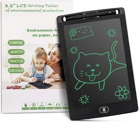 8.5 Inch LCD Writing Pad for Kids Handwriting Drawing Digital Writing Tablet and Pen with Erase Button - Pack of 1