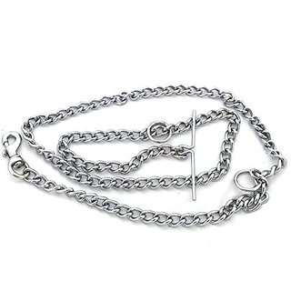 safepetz dog chain for medium size dog chrome plated length 5feet( made in india) weight 480gms