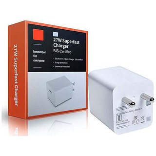 M.i. Fast Charger Compatible for Redmi Note 4, Redmi 7A, Redmi 4A, Redmi 4, Redmi 6, Redmi Note 6 Pro, Redmi 5