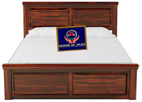 KAP solid  Wooden Queen Size Bed for Bed Room  Solid Wood Bed for Bedroom  Sheesham Wood,