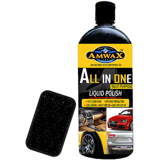 Amwax All In One Polish 500 Ml for Car and Bike