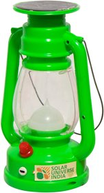 SUI LED Solar Lantern, Emergency Light  Lamp - Lalu - Green