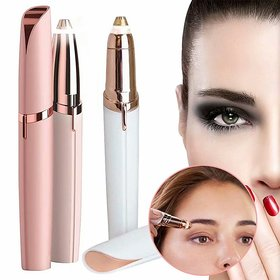 Portable Safe battery Operated Painless Electric Eyebrow Trimmer for Men  Women PACK OF 1