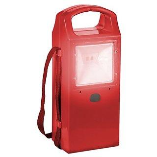 SUI Plastic Led Lamp With Mobile Charging  Shoulder Strap (Multicolour, 2-watt)