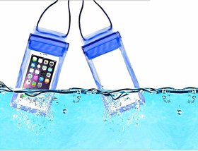 Lazywindow Waterproof Mobile Cover Pouches Pack of 2
