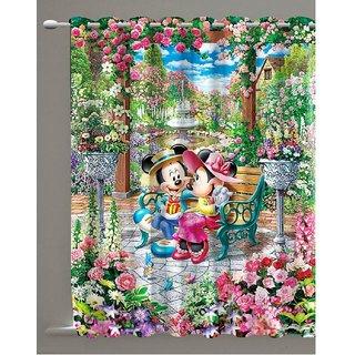 Visarend Digital Printed Door Curtain (7ft)